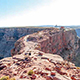 The trail to Guano Point at the Grand Canyon West Rim